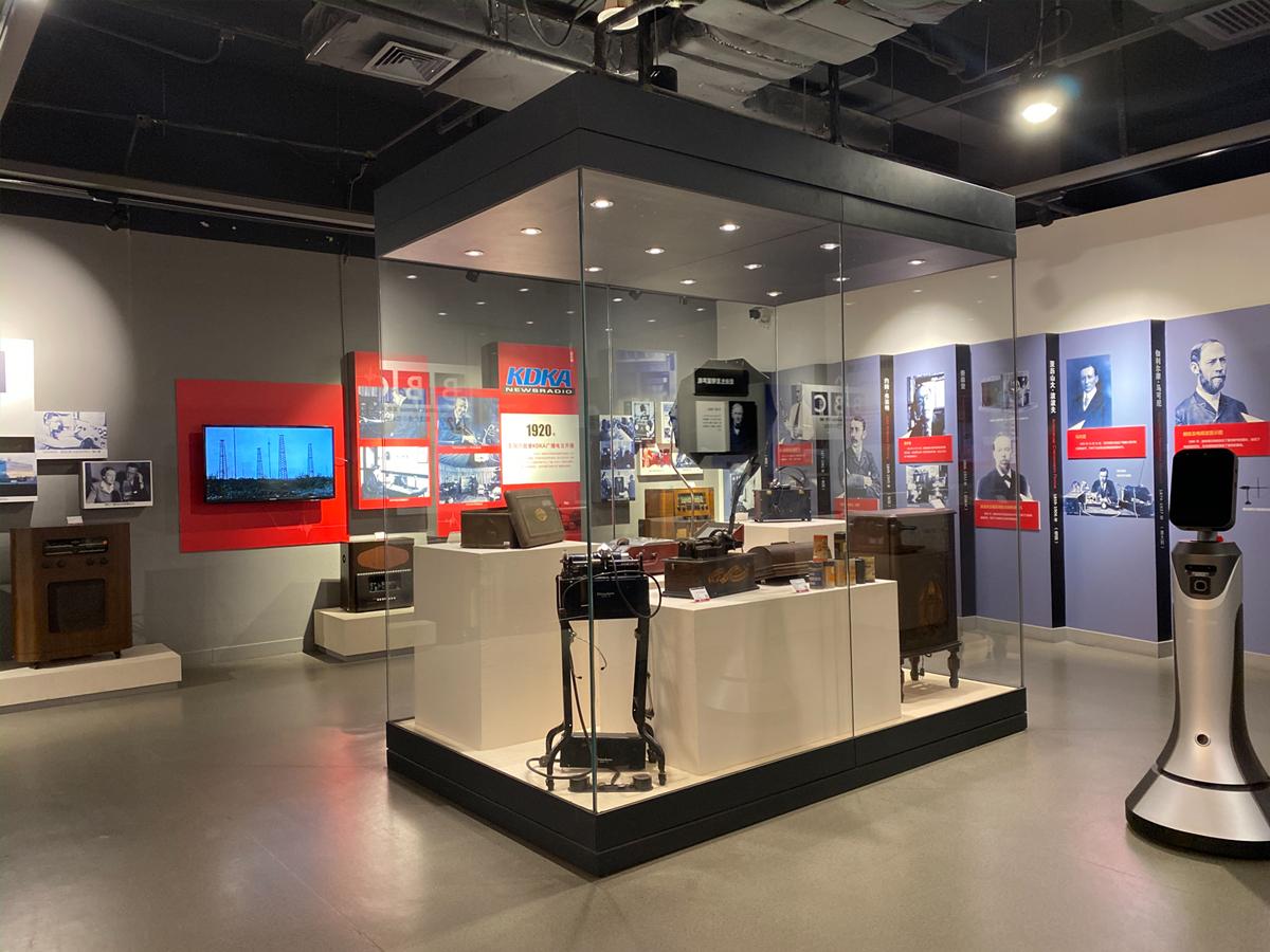 本馆员工调研中国传媒大学校史馆与传媒博物馆